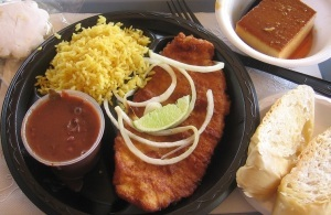 Fried Flounder at Havana Grill