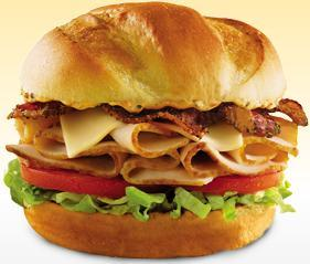 ROAST CHICKEN CLUB SANDWICH at Arby's