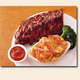 BABY BACK RIBS and SHRIMP - BABY BACK RIBS and SHRIMP at Cheddars Restaurant