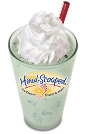 Mint OREO® Hand-Scooped Ice Cream Malt at Carl's Jr.