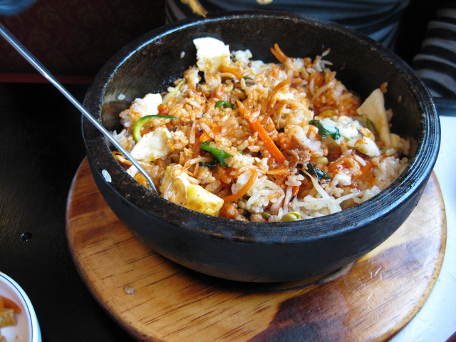 Dolsot Bibimbob at Hoban