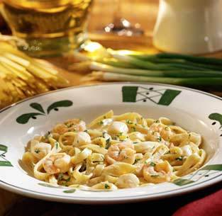 Seafood Alfredo at Olive Garden