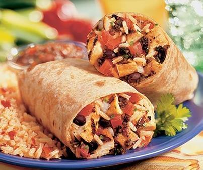 Healthmex Burrito at Rubio's
