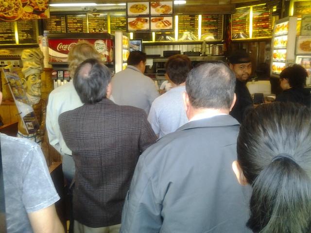 Interior at columbia restaurant