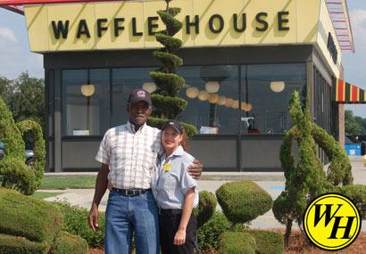 Exterior at Waffle House