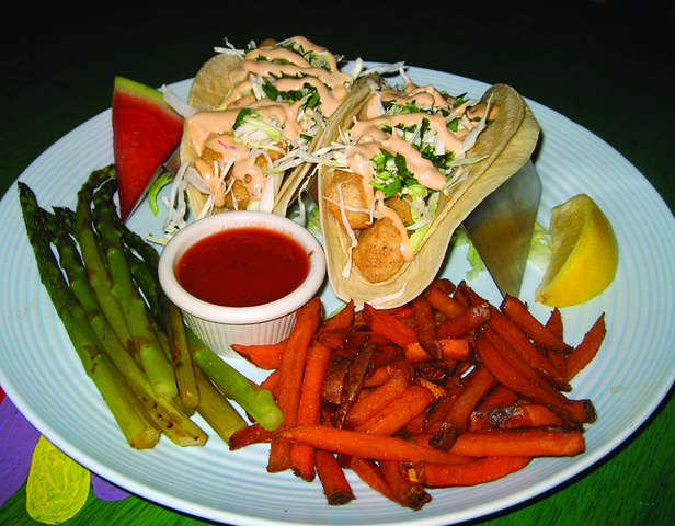 Fish Tacos (mahi) at Lista's Grill