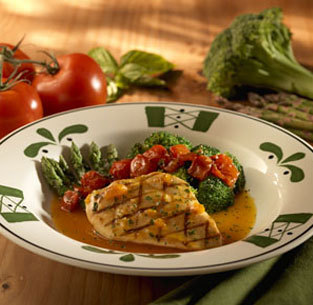 Venetian Apricot Chicken at Olive Garden