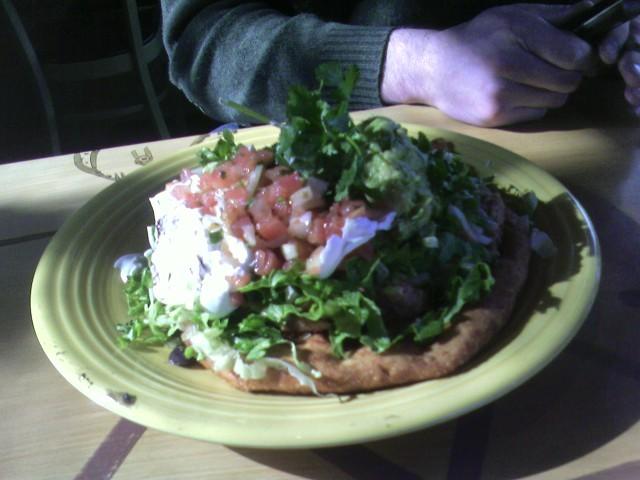 Navajo Torta at Cactus Restaurant