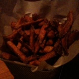Sweet Potato Fries at Father's Office
