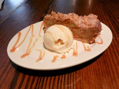 Stacked Apple Pie at Sticky Fingers Smokehouse