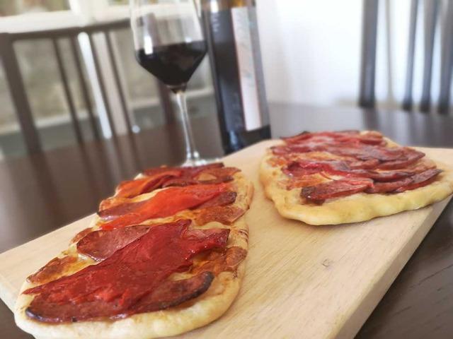 Photo of serrano ham