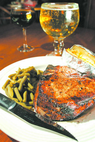 "Delicious 2"" Thick Pork Chop - Try to eat it all... - Pork Chop at Williams Ranch House"