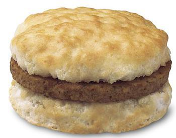 Sausage Biscuit at Chick-fil-A