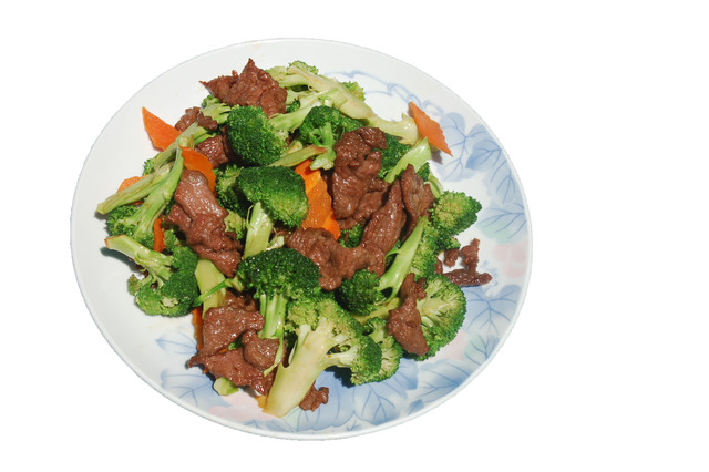 Beef w/ Broccoli at Shanghai Restaurant