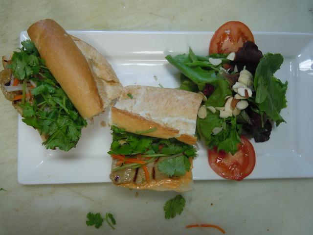 Pork Sandwhich at Saba Cafe