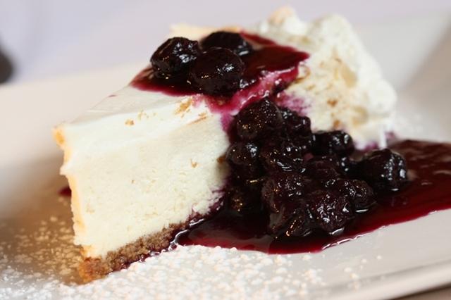 Cheesecake at La Casa D'Italia
