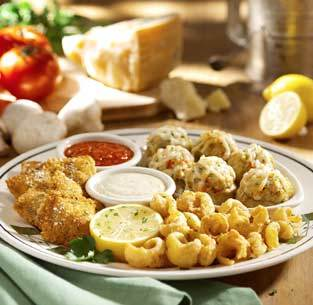 Create a Sampler Italiano at Olive Garden