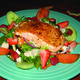 Kathy's Salad with Salmon at Lista's Grill