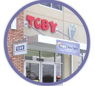 Exterior at TCBY