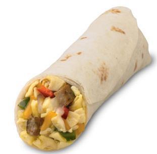 Sausage Breakfast Burrito at Chick-fil-A
