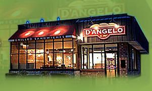 Exterior at D'Angelo's