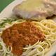 Chicken Parmigiana - Chicken Parmigiana at Potomac Pizza