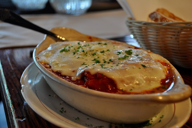 I love the Veggie Lasagna. - Vegetable Lasagna at Cherry Tomato