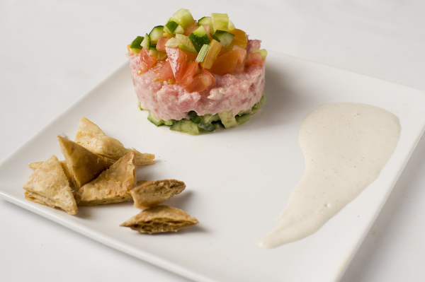Yum! - Tuna Tartar at Sababa Restaurant & Lounge (CLOSED)