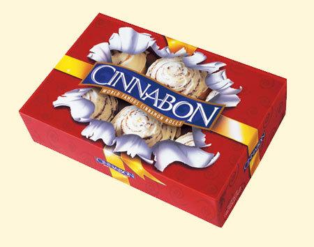 Dish at Cinnabon
