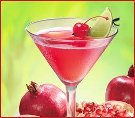Pomegranate Martini at Applebee's