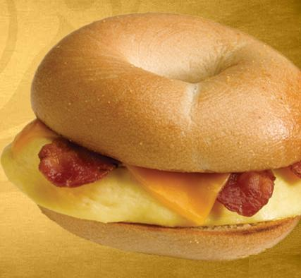 Bacon & Cheddar at Einstein Bros. Bagels