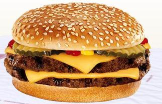 Double Cheeseburger at Burger King