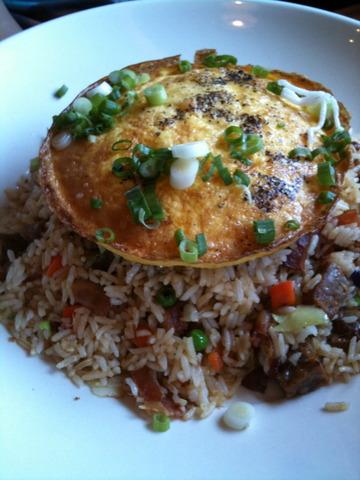 Hawaiian Fried Rice at Lazy Dog Cafe