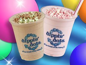 Milkshakes at Dippin' Dots