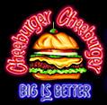 Logo at Cheeburger Cheeburger
