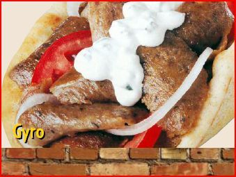 Gyro at Grillicious Cafe