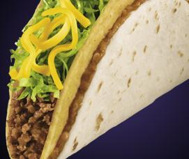 DOUBLE DECKER® TACO at Del Taco