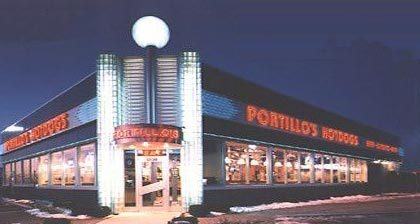 Exterior at Portillo's Hot Dogs