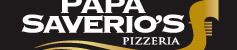 Logo at Papa Saverio's Pizzeria