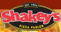 Logo at Shakey's Pizza Restaurant