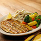 Grilled Rainbow Trout - Grilled Rainbow Trout at Bugaboo Creek Steak House