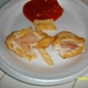 Management refused to refund my monies for this delicious (yeah right) RAW chicken!!! - 12 Piece Chicken Strips at Church's Chicken