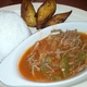Ropa Vieja and Plantains-lunch portion - Dish at Carlos Cafe Cuban Restaurant