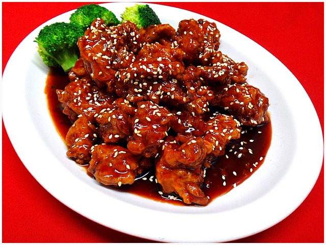 Crispy Sesame Chicken at Kum Fong Restaurant