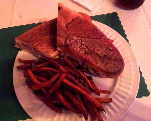 Cuban Sandwich at Red Rooster Inn