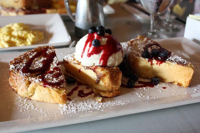 Lemon Ricotta French Toast at 26 Beach Cafe