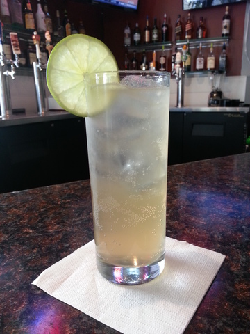 Moscow Mule at Sushi Kawa Sports Bar and Grill