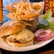 Burger at The ROI Food & Music