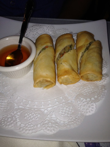 Egg Roll at Krua Thai Cafe