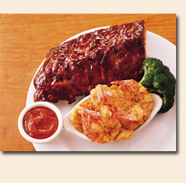 Photo of BABY BACK RIBS and SHRIMP